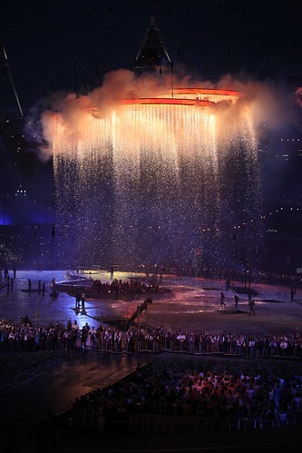 The amazing opening ceremony at the 2012 Olympics, London.