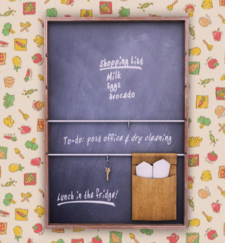 What Next - Kitchen Memo Board