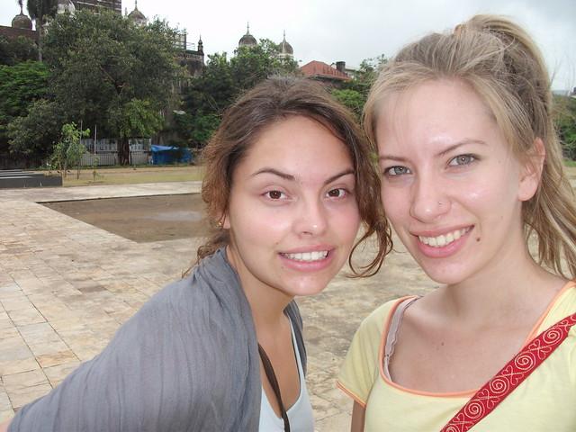 Me and Ashley in Mumbai