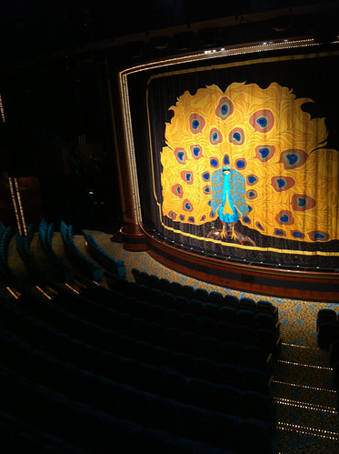 Norwegian Pearl - Stardust Theatre Curtain