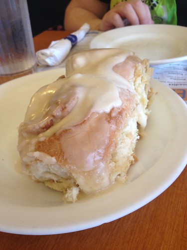 Cinnamon Roll at Ann Sather