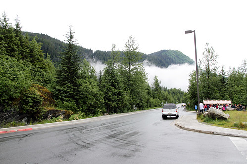 Juneau - Glacier Shuttle Stop at Exit