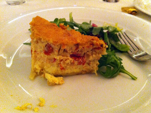 Norwegian Pearl - Tomato and Onion Quiche
