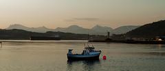 Boat outside of Narvik