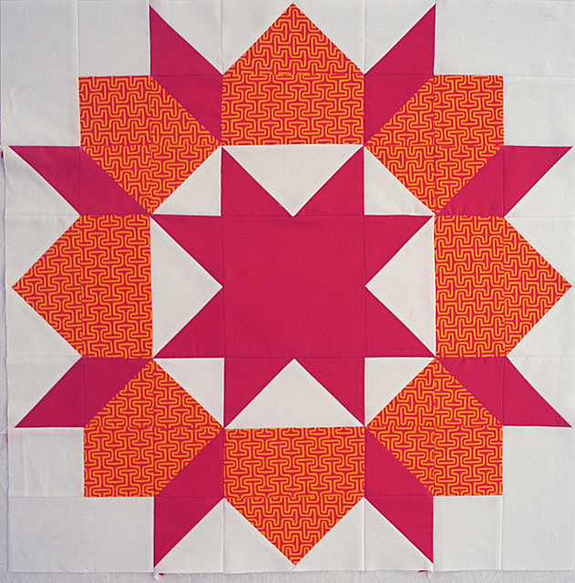 Swoon block for Erin