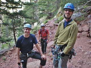 Jeff, Slava, and Mike Ready to Climb