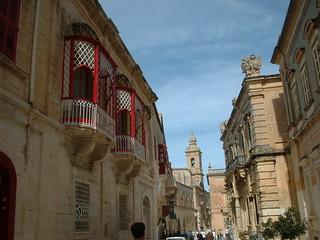 A Street in Mdina - Malta