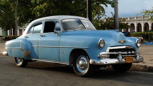1952 chevrolet styleline deluxe 4 door sedan in cuba a for 1952 chevrolet styleline deluxe 4 door