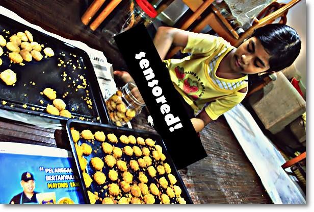 Biskut Cornflakes - Rajin Adik Beta!