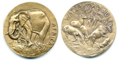 Huntington Africa medal