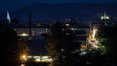 Genève depuis le Pont de la Jonction