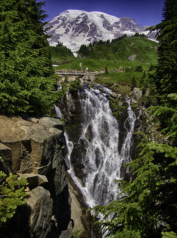 Waterfall @ Mt Rainier