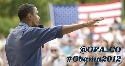 #Obama2012 for blog