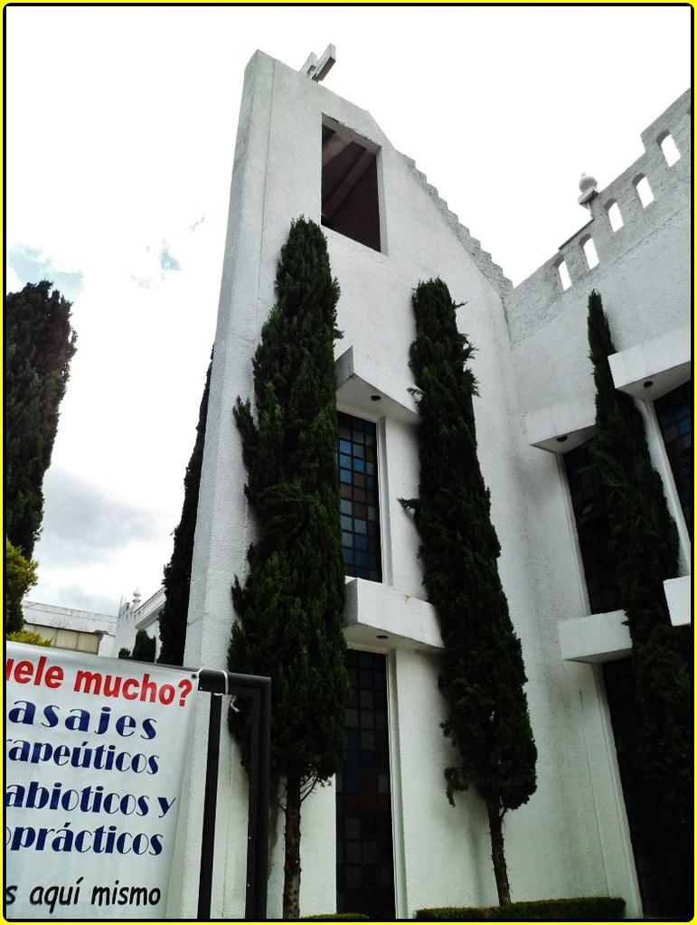 Parroquia Nuestra Señora del Sagrado Corazón.Toluca,Estado de México