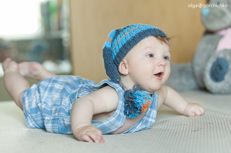 Сашенька, 5 месяцев