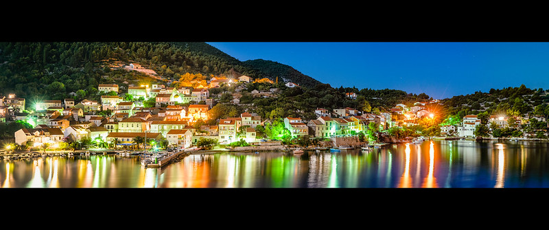 Racisce By Night - Korcula, Croatia - (03.08.2012)
