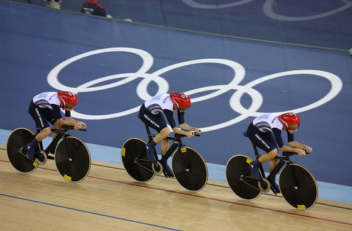 Great Britain Women's Team Pursuit - Gold