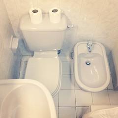 toilet(1.0), room(1.0), public toilet(1.0), urinal(1.0), plumbing fixture(1.0), toilet seat(1.0), bidet(1.0),