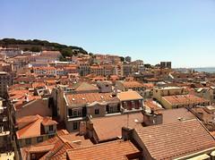 View from Elevador de Santa Justa