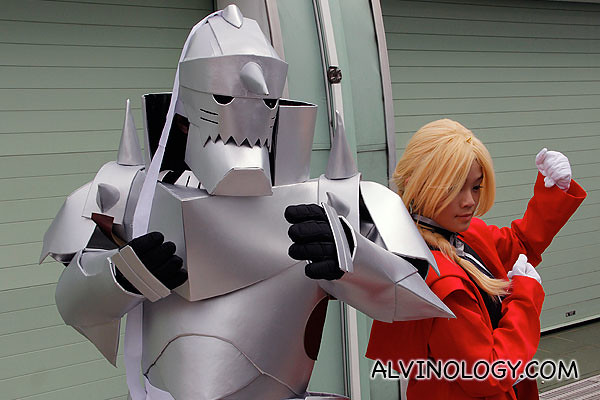 Characters from Full Metal Alchemist