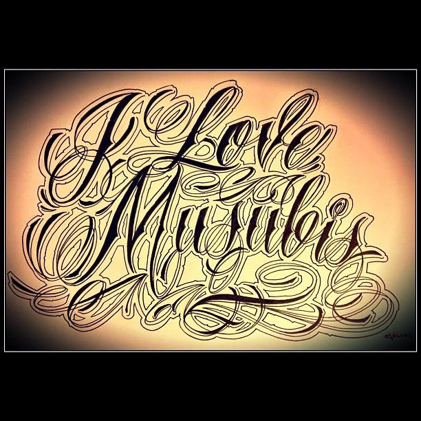 Fancy cursive tattoo fonts tattoo for Cursive writing tattoos