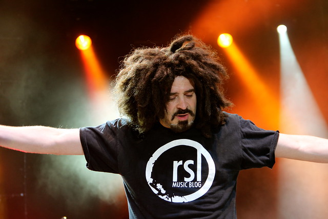 Adam Duritz, Counting Crows, Bend Oregon 2012, RealTVfilms