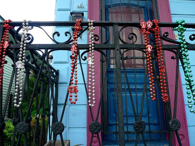 Beads as decor