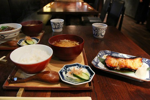 gindara set @ suju japanese restaurant