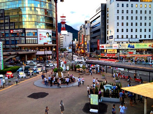 sunset station japan nagano hdr 4s iphone