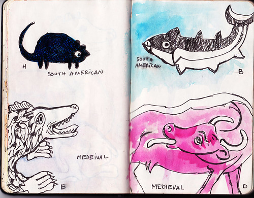 Sketchbook: Drawing Challenges