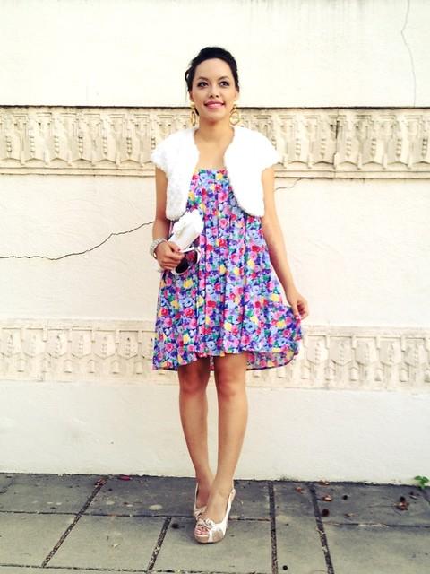 Watercolor floral pleats   IG: pslilyboutique , los angeles fashion blogger, fashion blog, fashionista