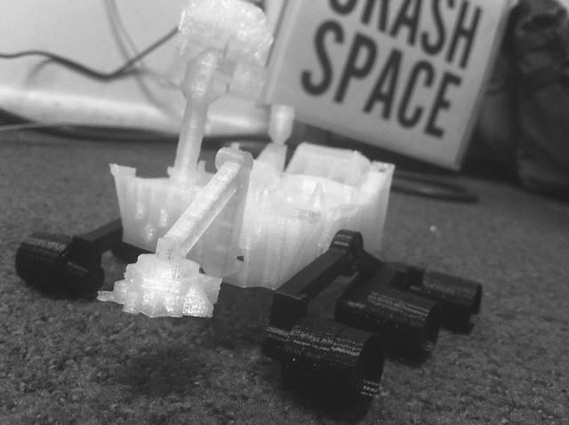 3D printed Mars Rover Curiosity