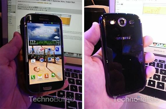 Samsung Galaxy S III negro en T-Mobile