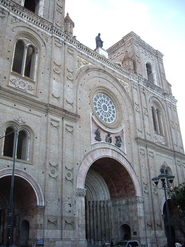 This was a large church in the town of Cuenca.