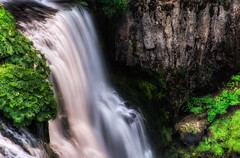McCloud Falls: Middle Falls from Above