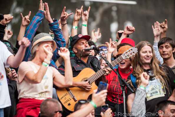 Tom Morello @ Outside Lands 2012