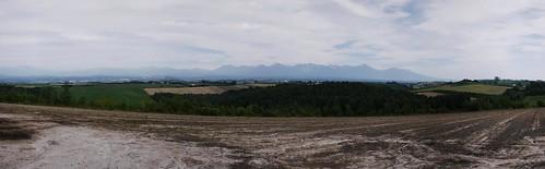 Big scenery near Biei (Hokkaido, Japan)