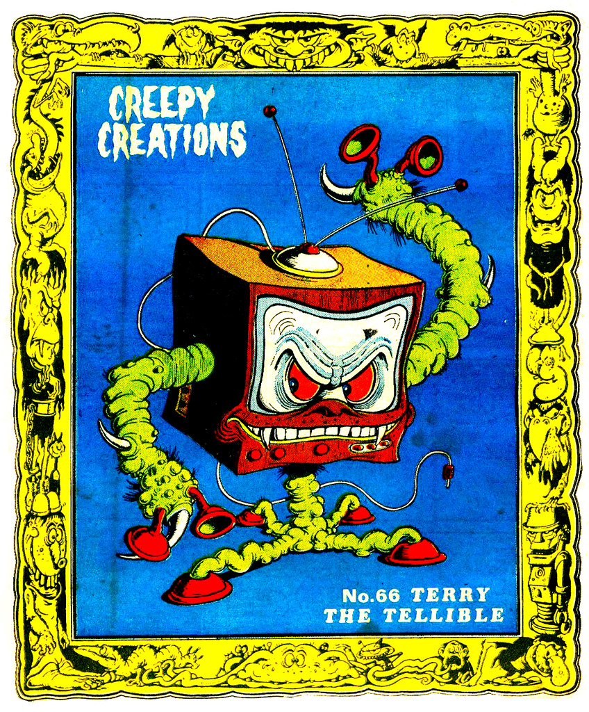 Creepy Creations No.66 - Terry The Tellible