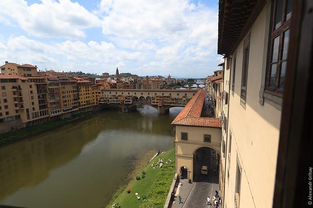 Флоренция - знаменитый Понте Веккьо