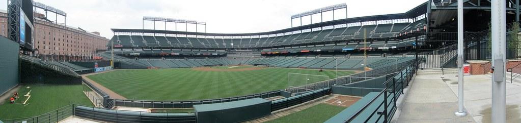 Camden Yards Center Field