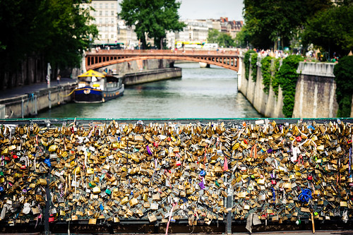 locks, paris