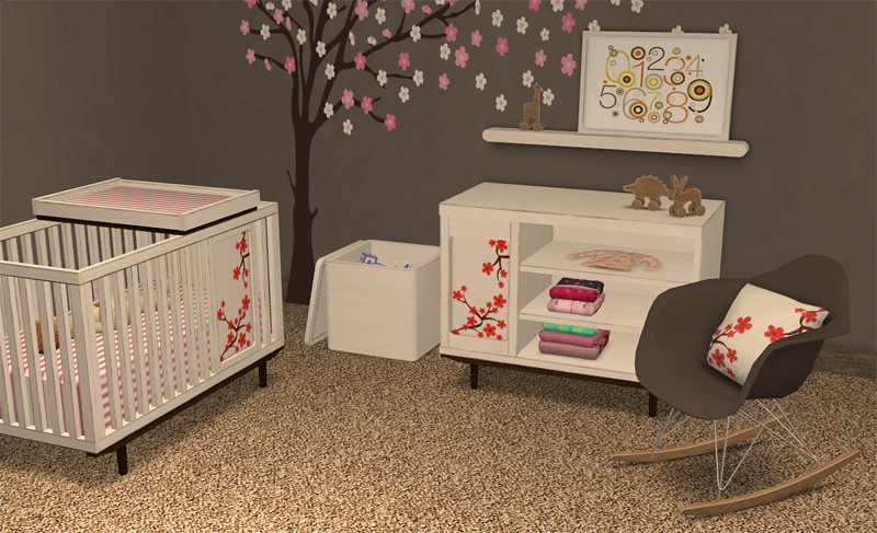 Could some one convert this nursery to sims 3 please the - Resource furniture espana ...
