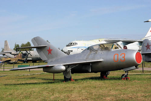 Mikoyan-Gurevich MiG-15UTI 03 red