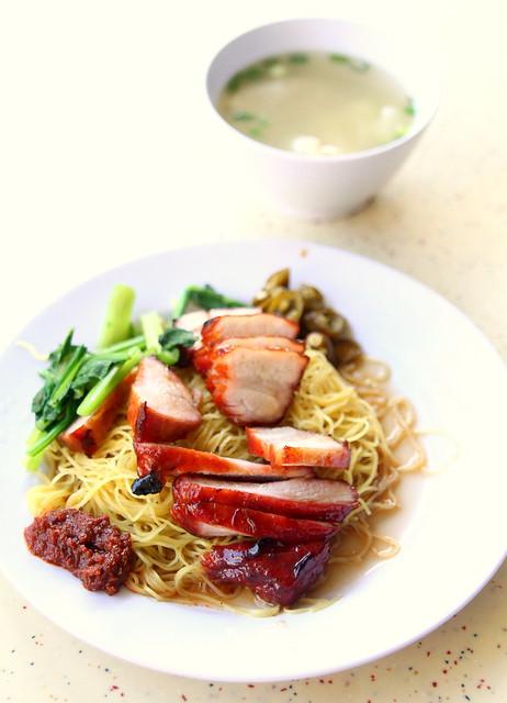 Tiong Bahru Market: Zhong Yu Yuan Wei Wanton Noodle