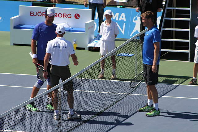 Mark Philippoussis and Thomas Enqvist