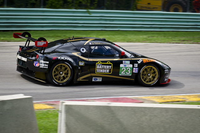 AJR Lotus Evora entering Canada Corner