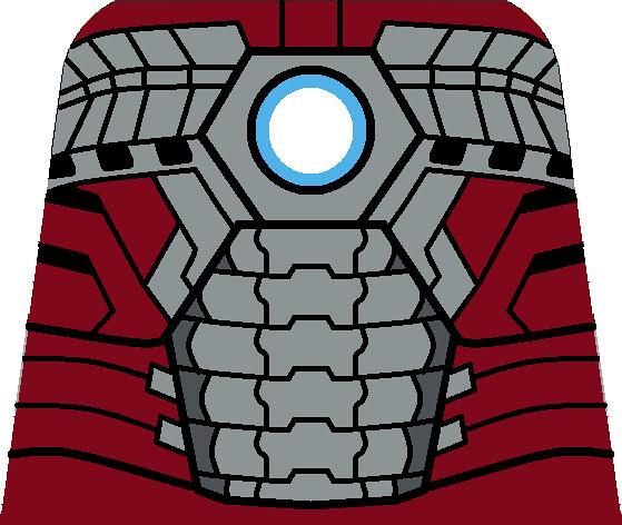 LEGO Iron Man Mark 5