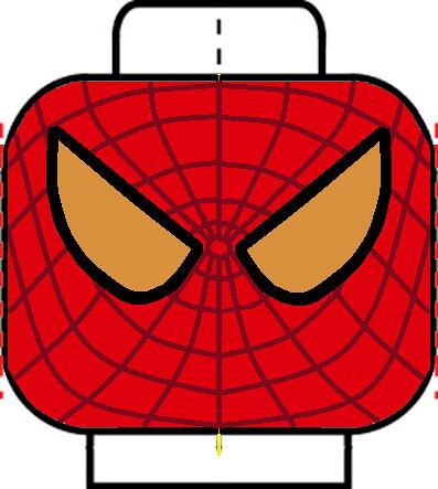 Amazing Spider-Man Head | Custom lego Amazing Spider-Man ...