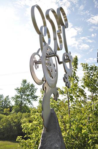 Metal Sculpture at Big Stone