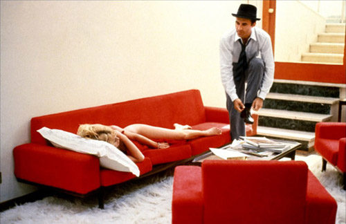 still from Le Mépris (Godard, 1963)